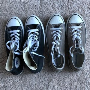 MENS CONVERSE BUNDLE SIZE 8
